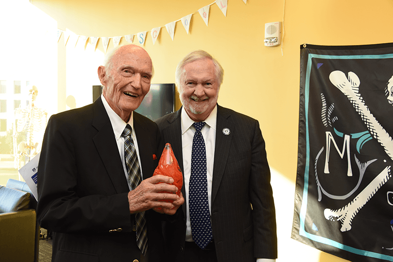 photo from article Dr. Roy Witherington honored with The President's Award