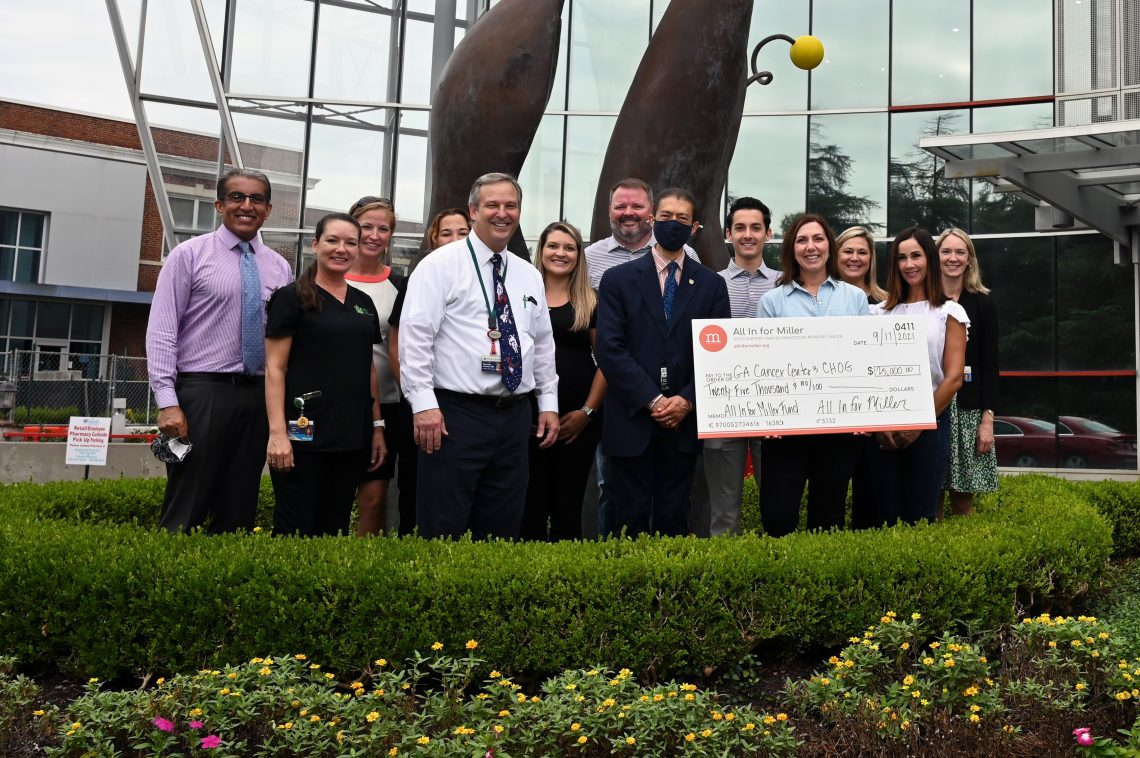 Group with large check
