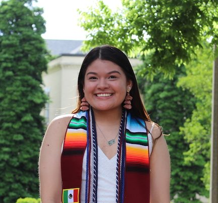 photo from article Cassie Govea, Graduate Student, COE